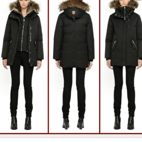 Mackage Marla Mid Length Down Coat Jacket